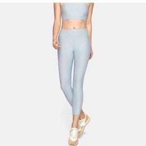 Outdoor Voices Warm Up leggings size M ice blue